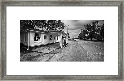 Soulsby's Service Station Framed Print by Twenty Two North Photography
