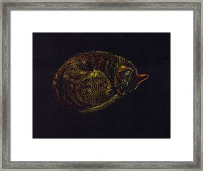 Sound Asleep II Framed Print by Mui-Joo Wee