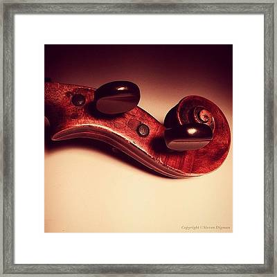 Sound At Rest   Framed Print