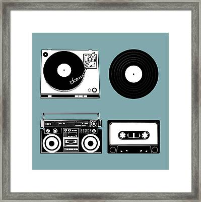 Sound Evolution 11 Framed Print