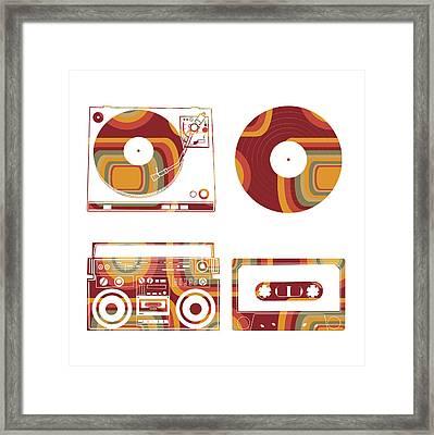 Sound Evolution 12 Framed Print
