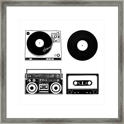 Sound Evolution 7 Framed Print