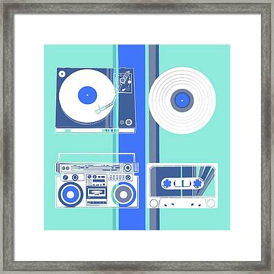 Sound Evolution 9 Framed Print