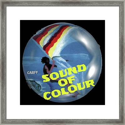 Sound Of Colour Framed Print