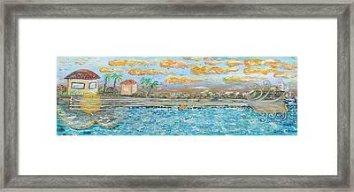 Sound Of Maui Framed Print by Podge Elvenstar