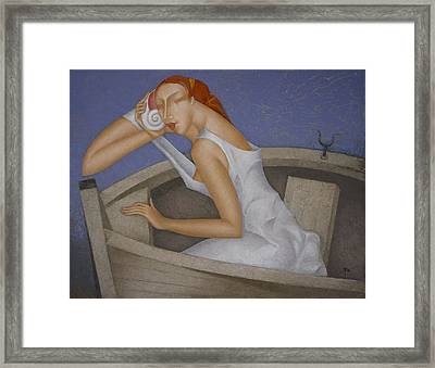 Sound Of The Sea Framed Print
