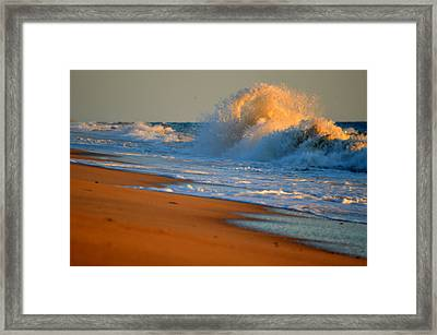 Sound Of The Surf Framed Print