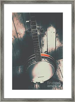 Sound Of The West Framed Print