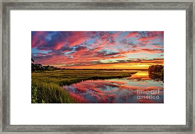 Sound Refections Framed Print