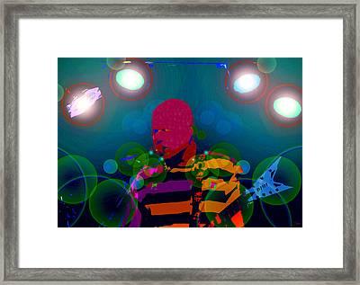 Sound Waves Framed Print by David Lee Thompson