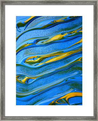 Sound Waves Framed Print by Gregory Young