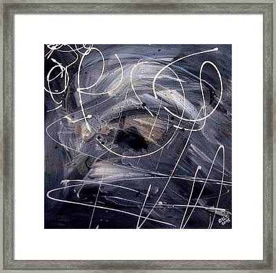 Sound Waves Framed Print by Ofelia Uz