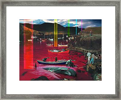 Sounding Of The Second Trumpet Framed Print by Mark Myers