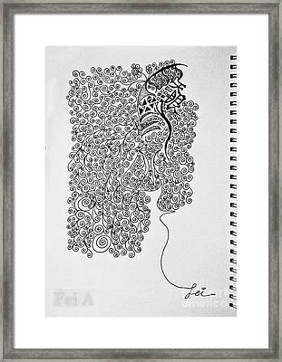 Soundless Whisper Framed Print by Fei A