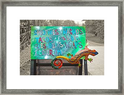 Sounds Great To Me Framed Print