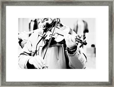 Sounds Of A Stranger Framed Print