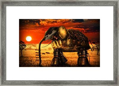 Sounds Of Cultures Framed Print