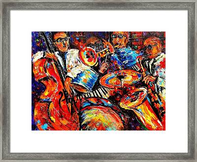 Sounds Of Jazz Framed Print
