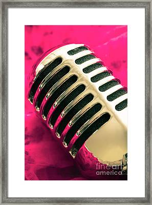 Sounds Of Satin Framed Print by Jorgo Photography - Wall Art Gallery