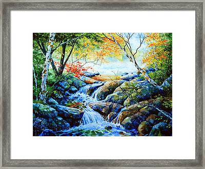 Sounds Of Silence Framed Print by Hanne Lore Koehler