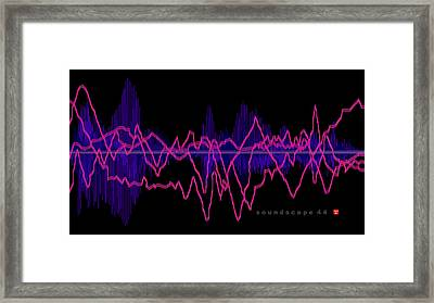 Soundscape 44 Framed Print