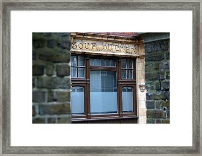 Soups Up Framed Print by Jez C Self