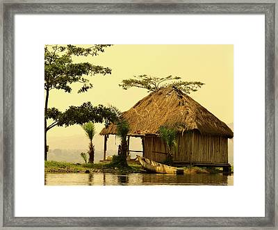 Source Of The Nile Framed Print