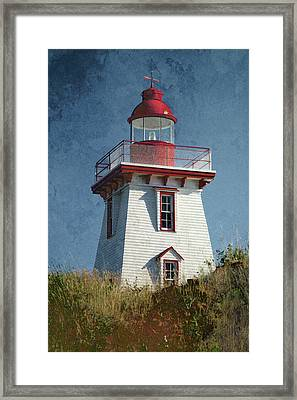 Souris Lighthouse 3 Framed Print