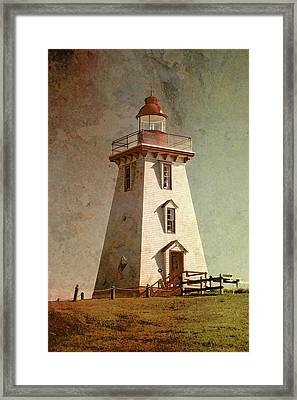 Souris Lighthouse 4 Framed Print