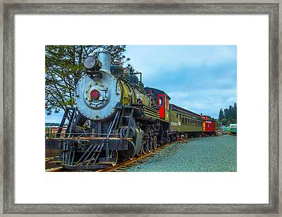 Sourthern Pacific Lines Number 90 Framed Print by Garry Gay