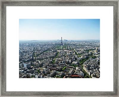 Sous Le Ciel De Paris Framed Print by Iryna Goodall