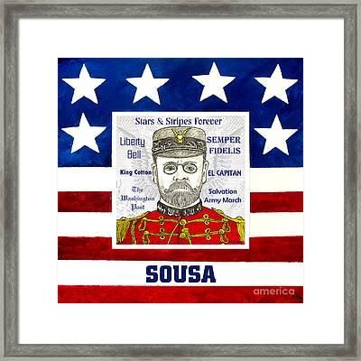 Sousa Framed Print by Paul Helm