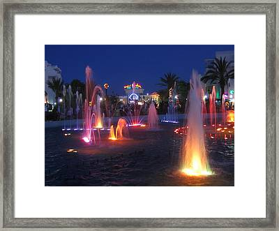 Framed Print featuring the photograph Sousse Night Shot by Maciek Froncisz