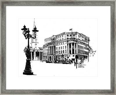 South Africa House Framed Print