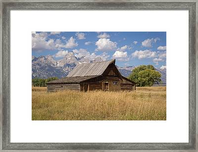 South Barn Framed Print