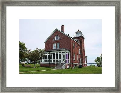 South Bass Island Lighthouse- Horizontal Framed Print