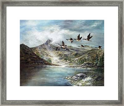 South Before Winter Framed Print by David Jansen