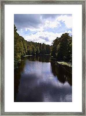 South Bound Framed Print