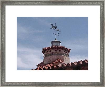 South By Southwest - Death Valley Framed Print