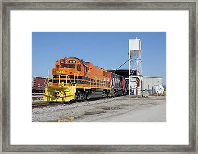 South Carolina Central Gp38-2 #2033 Framed Print