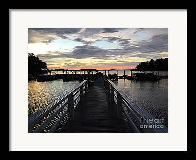 Lake Murray South Carolina Framed Prints