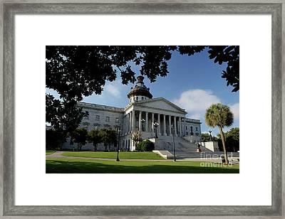 South Carolina State House 2 Framed Print