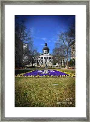 South Carolina Statehouse 3 Framed Print