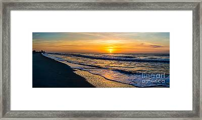 South Carolina Sunrise Framed Print