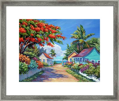South Church Street Framed Print by John Clark