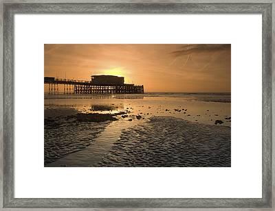 South Coast Sunrise Framed Print by Hazy Apple