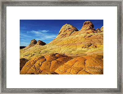 South Coyote Buttes Arizona 2 Framed Print by Bob Christopher