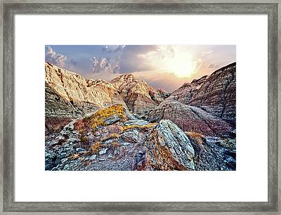 South Dakota 2 Framed Print