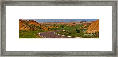 South Dakota Scenic Drive Framed Print by Adam Jewell