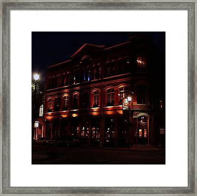 South End Brewery Framed Print
